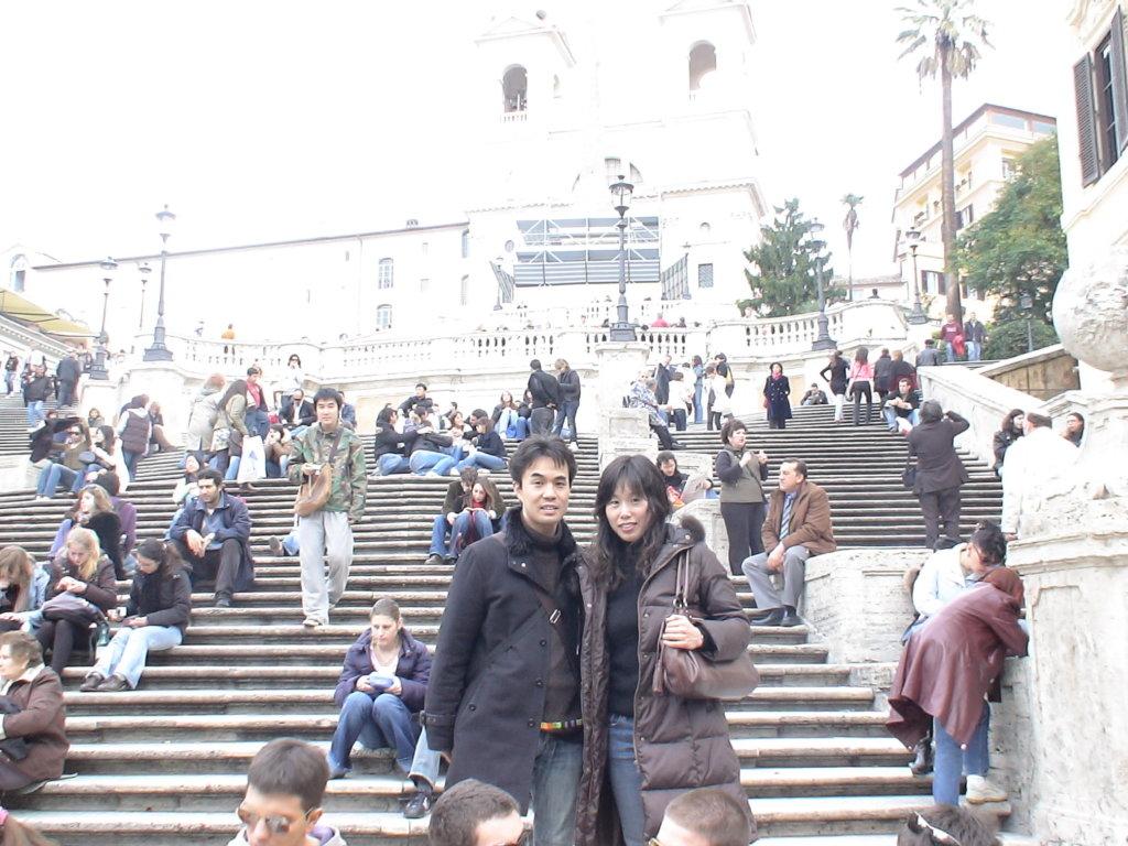 新婚旅行のローマ